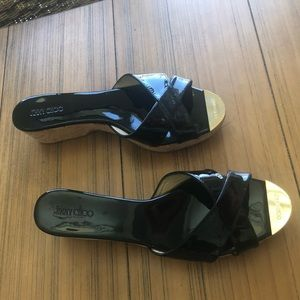 Jimmy Choo wedges from NM